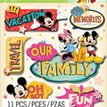 Disney Mickey Dimensional Sticker