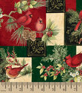 Susan Winget Cotton Print Fabric -Elegant Traditions