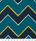 Robert Allen @ Home Print Swatch 55\u0022-Chevron Turquoise