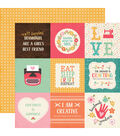 I\u0027d Rather Be Crafting Double-Sided Cardstock 4\u0027\u0027x4\u0027\u0027-Journaling Cards