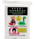 Pearl Paperclay 16 Ounces-White