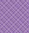 Core\u0027dinations Core Basics Patterned Cardstock 12\u0022X12\u0022-Purple Plaid