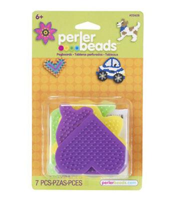 Perler Beads 7 pk Assorted Pegboards