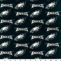 Philadelphia Eagles Cotton Fabric -Logo