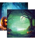 Pumpkin Hallow Double-Sided Cardstock 12\u0022X12\u0022-Pumpkin Hallow
