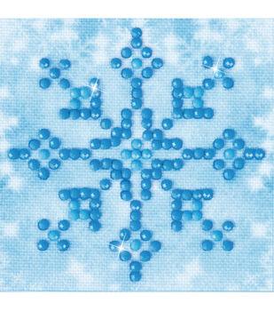Diamond Dotz Diamond Embroidery Art Kit 4.75''X4.75''-Snowflake Sparkle