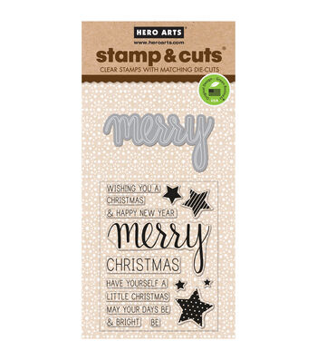 Hero Arts Merry Stamp & Cuts