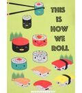 No Sew Fleece Throw 48\u0022-This is How We Roll