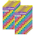 Colorful Smiles superSpots Stickers-Sparkle 12 Packs