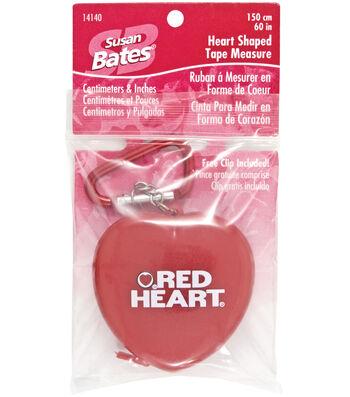 Susan Bates Heart Shaped Tape Measure