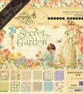 Graphic 45 Deluxe Collector\u0027s Edition Pack 12\u0022X12\u0022-Secret Garden