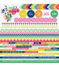 Kaisercraft Fiesta! Cardstock Stickers 12\u0027\u0027x12\u0027\u0027
