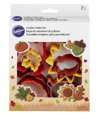 Wilton Metal Cookie Cutter Set 7pcs-Autumn