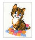 Riolis 6\u0027\u0027x7\u0027\u0027 Counted Cross Stitch Kit-Kitten