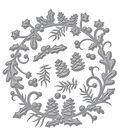 Spellbinders Shapeabilities Etched Die-Holly Berry Wreath