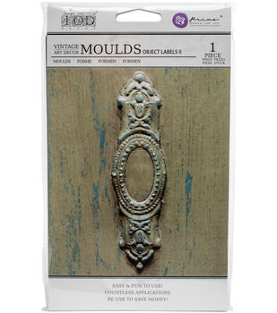 "Iron Orchid Designs Vintage Art Decor Mould 5""X8""-Object Labels #2"