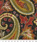 Home Decor 8\u0022x8\u0022 Fabric Swatch-Plumtree Paisley Spice