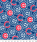 Chicago Cubs Cotton Fabric -Packed