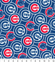Chicago Cubs Cotton Fabric -Packed, , hi-res