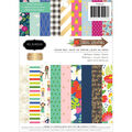Jen Hadfield Pebbles Single-Sided Paper Pad 6x8 24pk-Chasing Adventures
