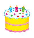 Trend Enterprises, Inc. Birthday Cake Accents, 36 Per Pack, 3 Packs