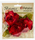 Botanica Fairy Rose Buds 1.7\u0022-Red/Burgundy