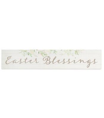 Easter Decor Pinewood Barnhouse Block-Easter Decor Blessings