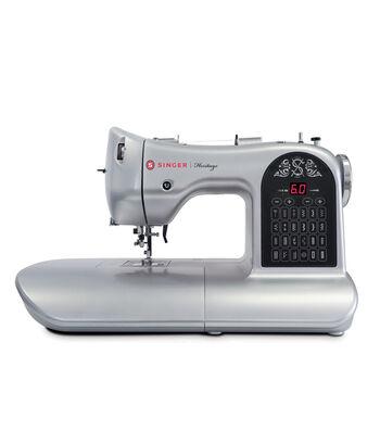 Singer 8748 Heritage Sewing Machine-Silver