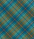 Snuggle Flannel Fabric -Enamel Plaid