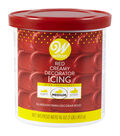 Wilton 16 oz. Creamy Decorator Icing-Red