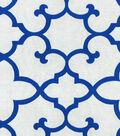 Waverly Lightweight Decor Fabric-Linear Array/Royal