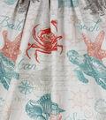 Home Essentials Lightweight Decor Fabric 45\u0027\u0027-Coral Ishmael