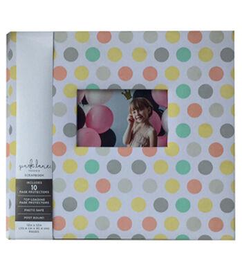 Park Lane 12''x12'' Scrapbook Album-Polka Dots