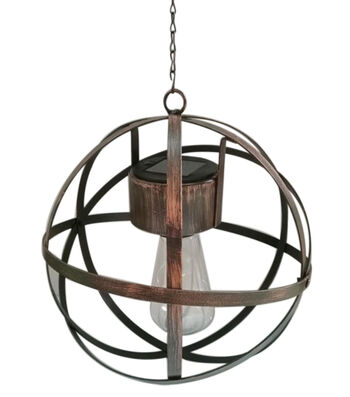 In the Garden Solar Orb-Bronze