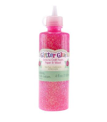 Advantus/Sulyn Glitter Glue-Raspberry