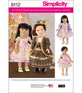 Simplicity Patterns US8112Os Crafts-One Size
