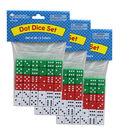 Learning Resources Dot Dice, 36 Per Pack, 3 Packs