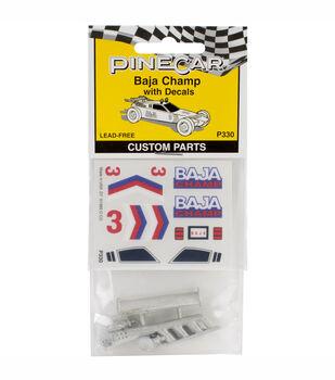 Pinewood Derby Car Custom Parts-Baja Champ
