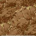 Keepsake Calico Cotton Fabric-Brown Stone Metallic