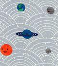 Nursery Cotton Fabric 43\u0027\u0027-Outerspace Planets