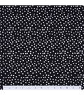 Keepsake Calico Cotton Fabric -Irregular Dots On Black