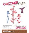 CottageCutz Die-Wildflowers 3 0.8\u0022 To 3.7\u0022