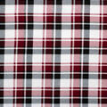 Super Snuggle Flannel Fabric-Red, Black & White Plaid