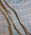 Varsity Club Suiting Fabric -Houndstooth & Plaid