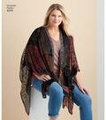 Simplicity Pattern 8419 Misses\u0027 Kimono Style Wrap-Size A (XS-S-M-L-XL)