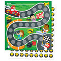 Racing Mini Incentive Charts, 6 Per Pack