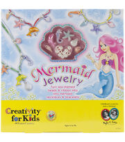 Creativity For Kids Mermaid Jewelry Kit, , hi-res