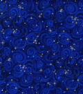 Premium Cotton Fabric 44\u0027\u0027-Stars on Midnight
