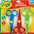 My First Crayola Safety Scissors-3/Pkg