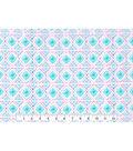 Nursery Cotton Flannel Fabric -Unicorn Geometric Aztec